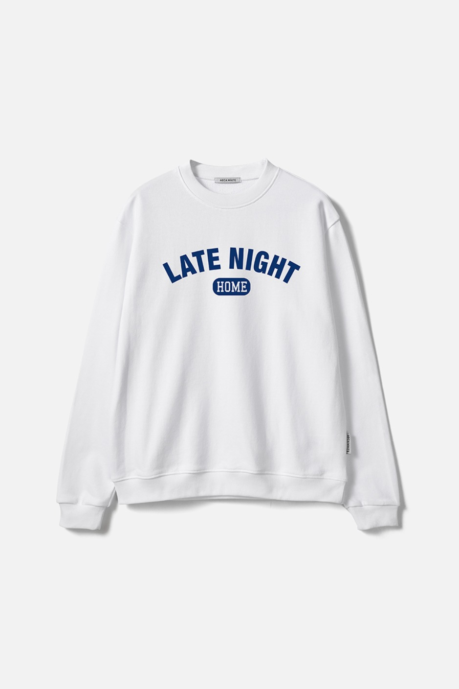 LATE NIGHT SWEATSHIRT-WHITE