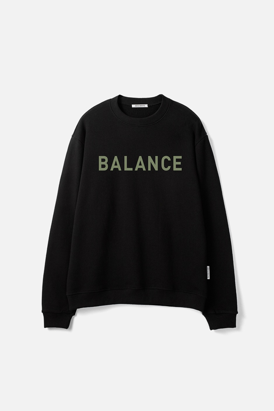 BALANCE SWEATSHIRT-BLACK