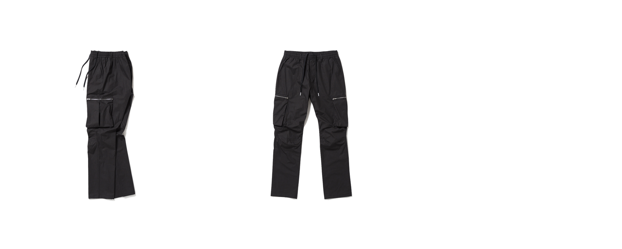 Cotton Cargo Pants Black