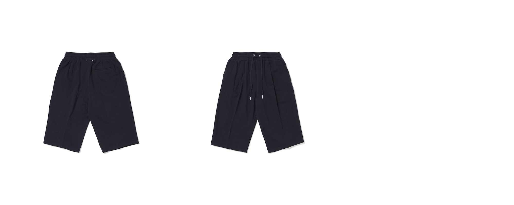 Light Mid-Length Pants  Navy