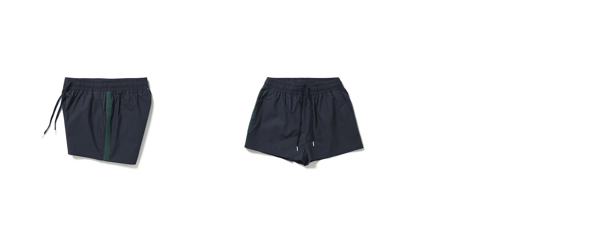 Double Shorts Deep Navy