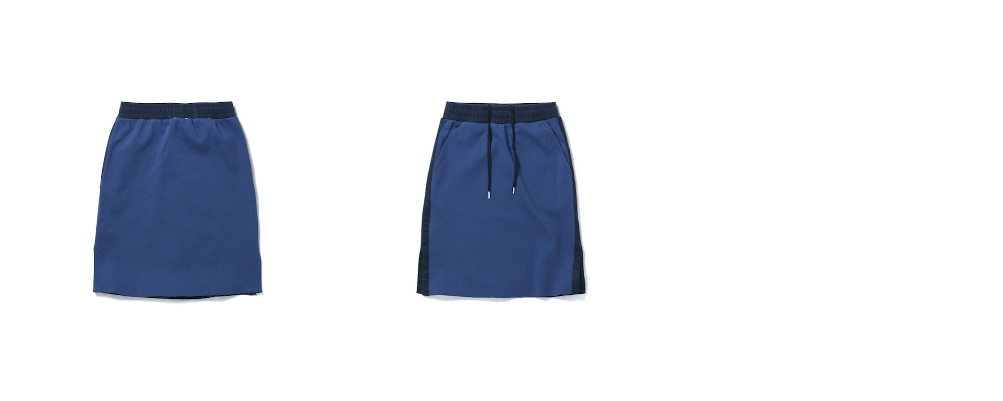 Cotton Skirt Blue