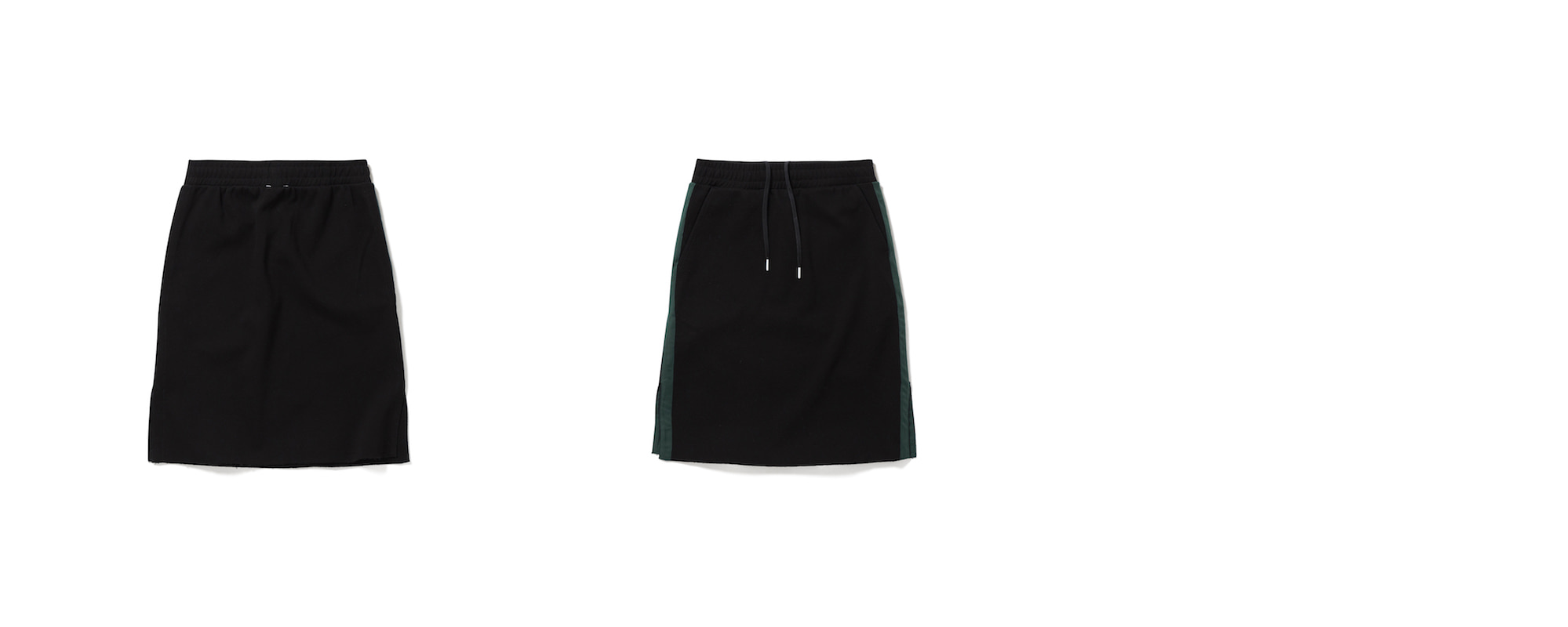 Cotton Skirt Black