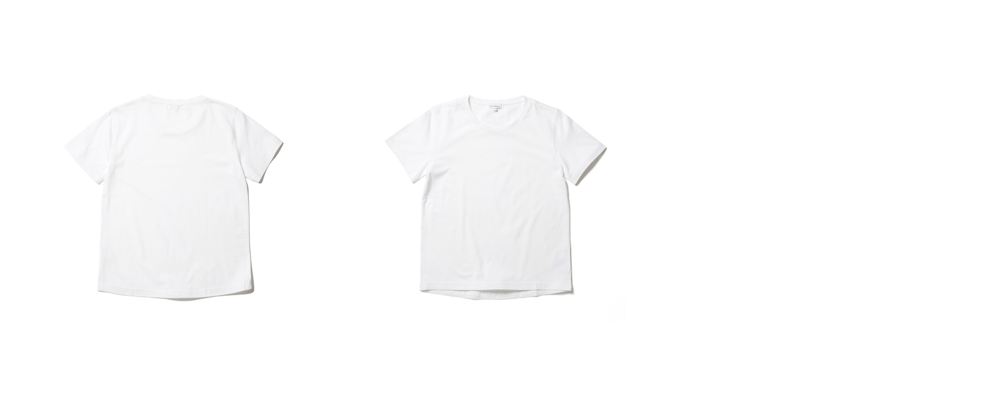 Light Half Sleeve Tee  White
