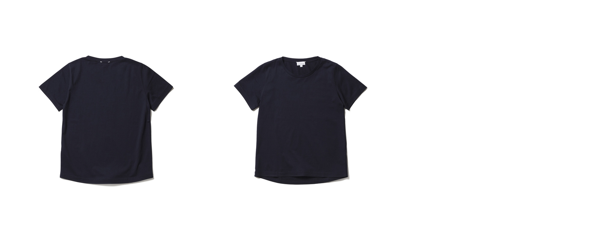 Light Half Sleeve Tee  Navy