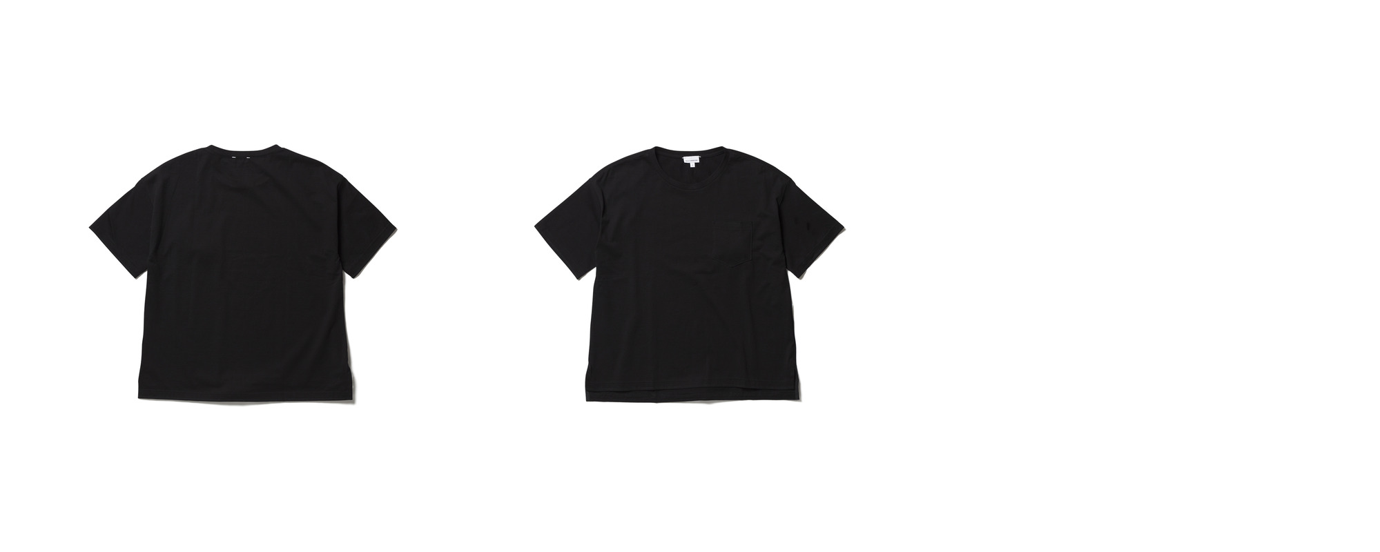 Light Pocket Tee  Black