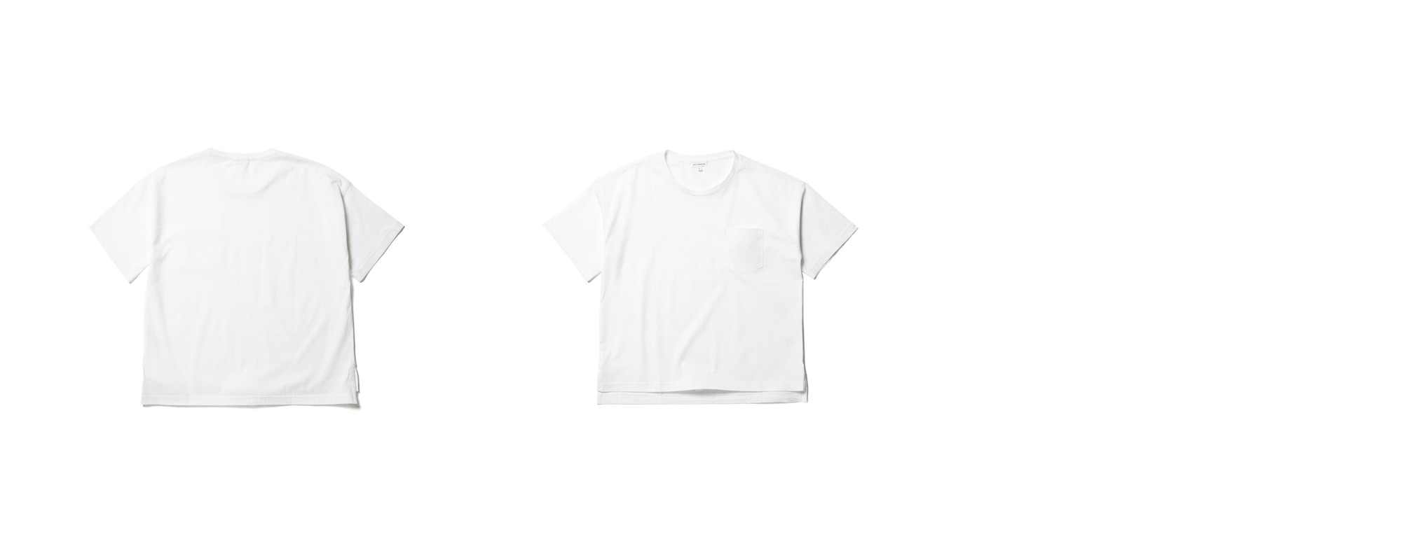 Light Pocket Tee  White