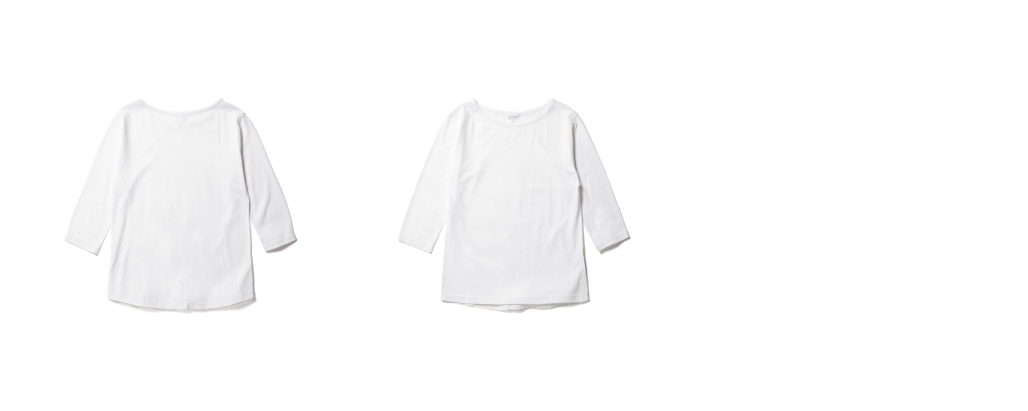 Light Boat Neck  White