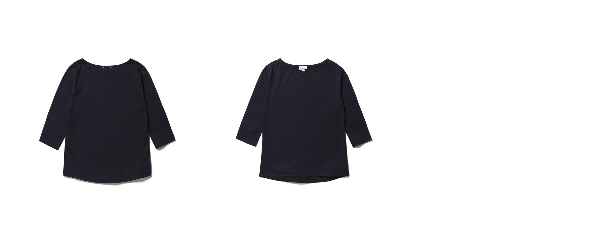 Light Boat Neck  Navy