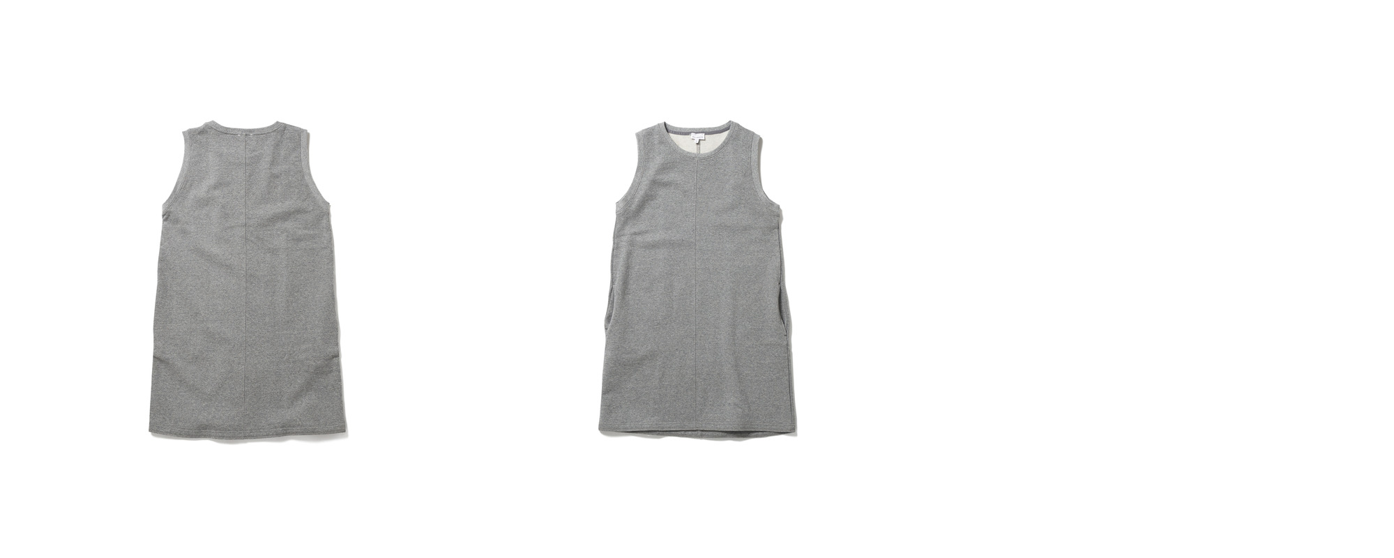 Mid Jersey Dress  Grey