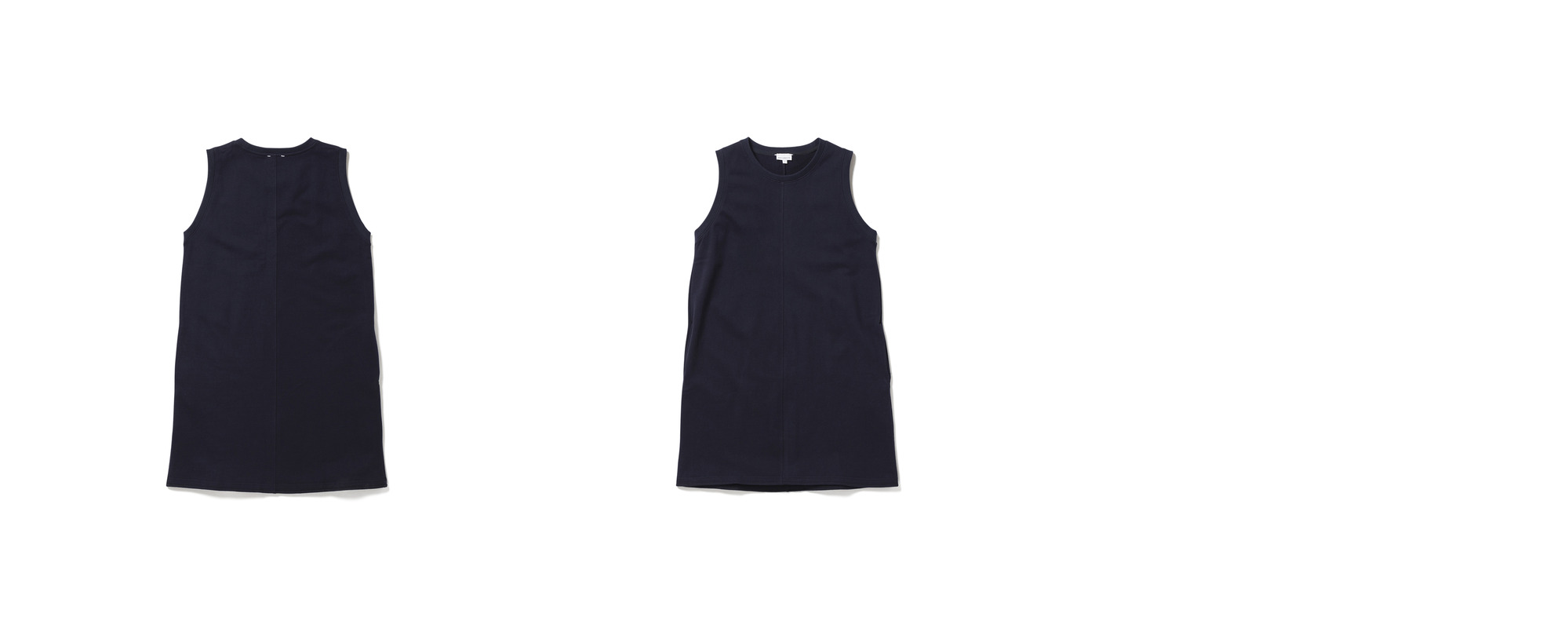 Mid Jersey Dress  Navy