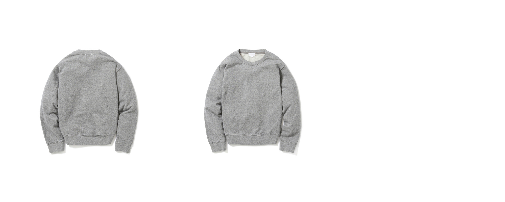Light-terry Sweatshirt  Grey