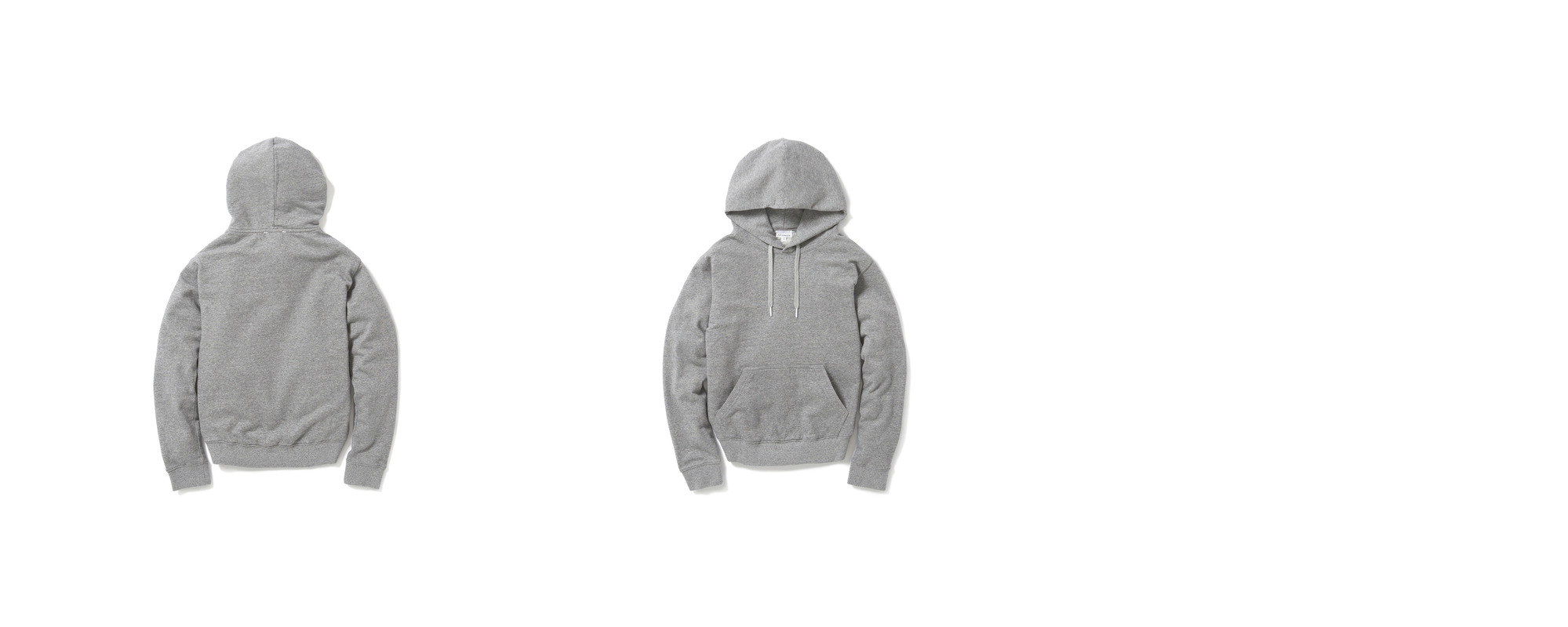 [Women] Mid-terry Pullover hoodie  Grey