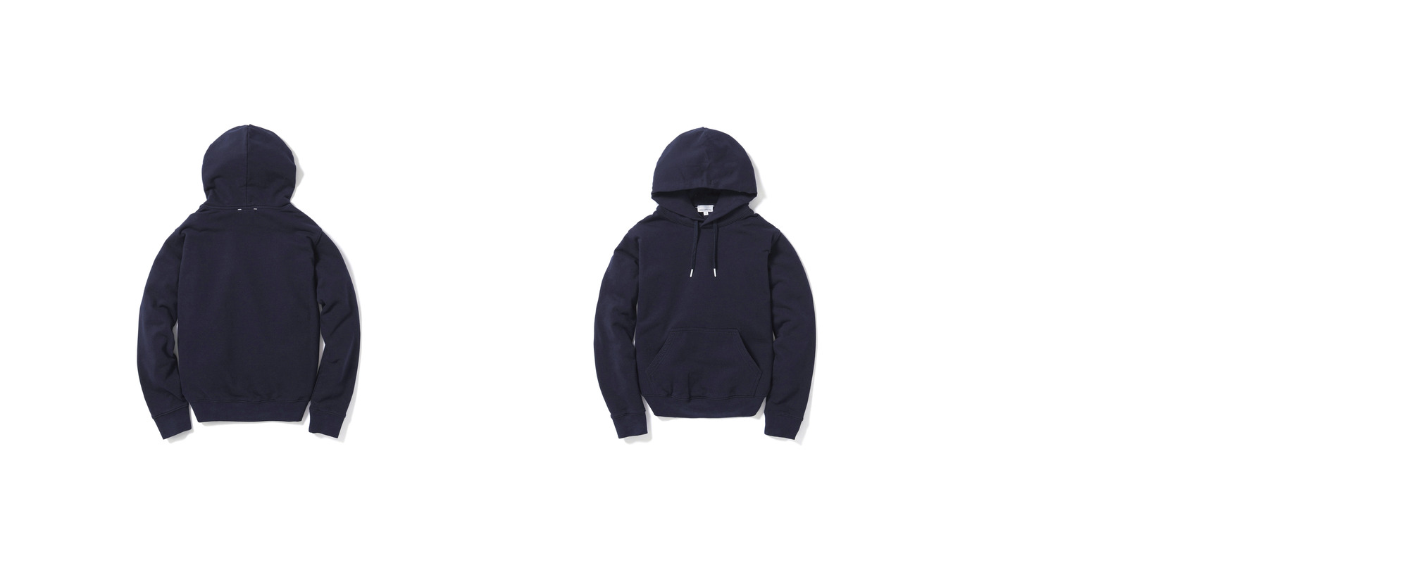 [Women] Mid-terry Pullover hoodie  Navy