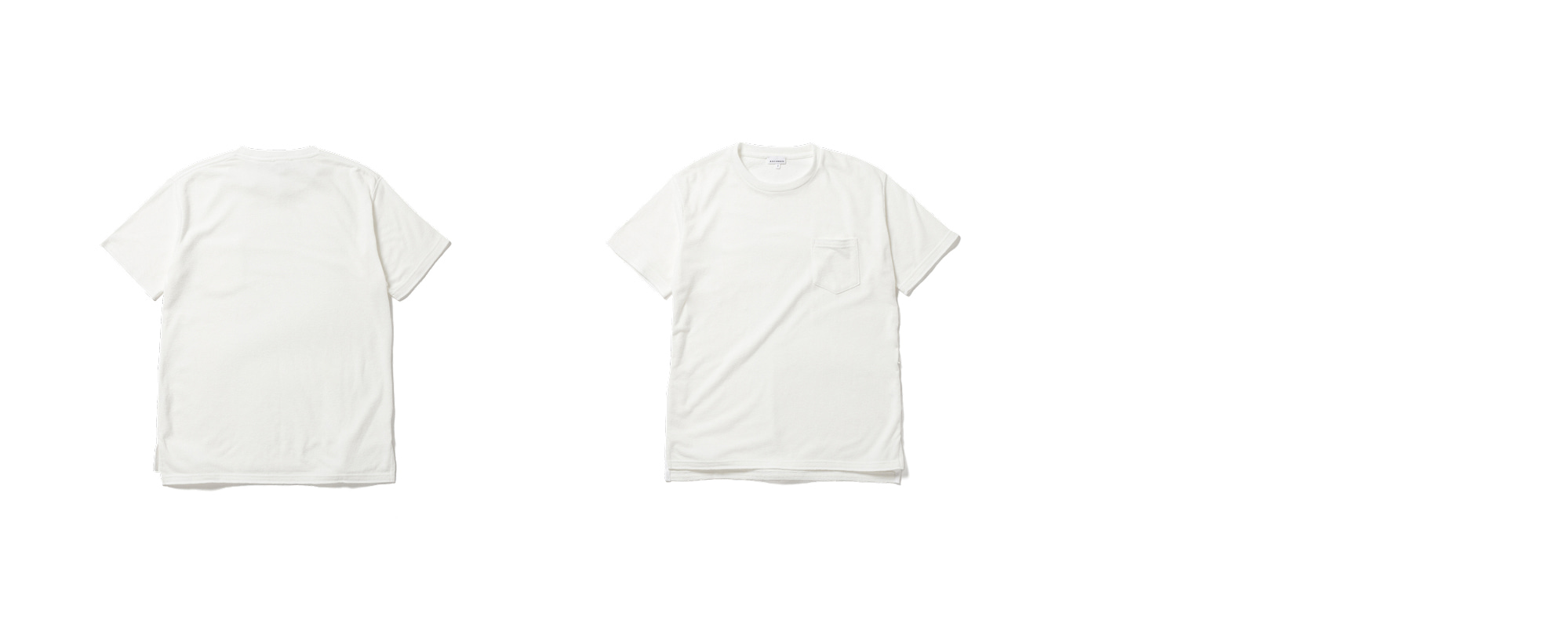 Wendy Pocket Tee Ivory