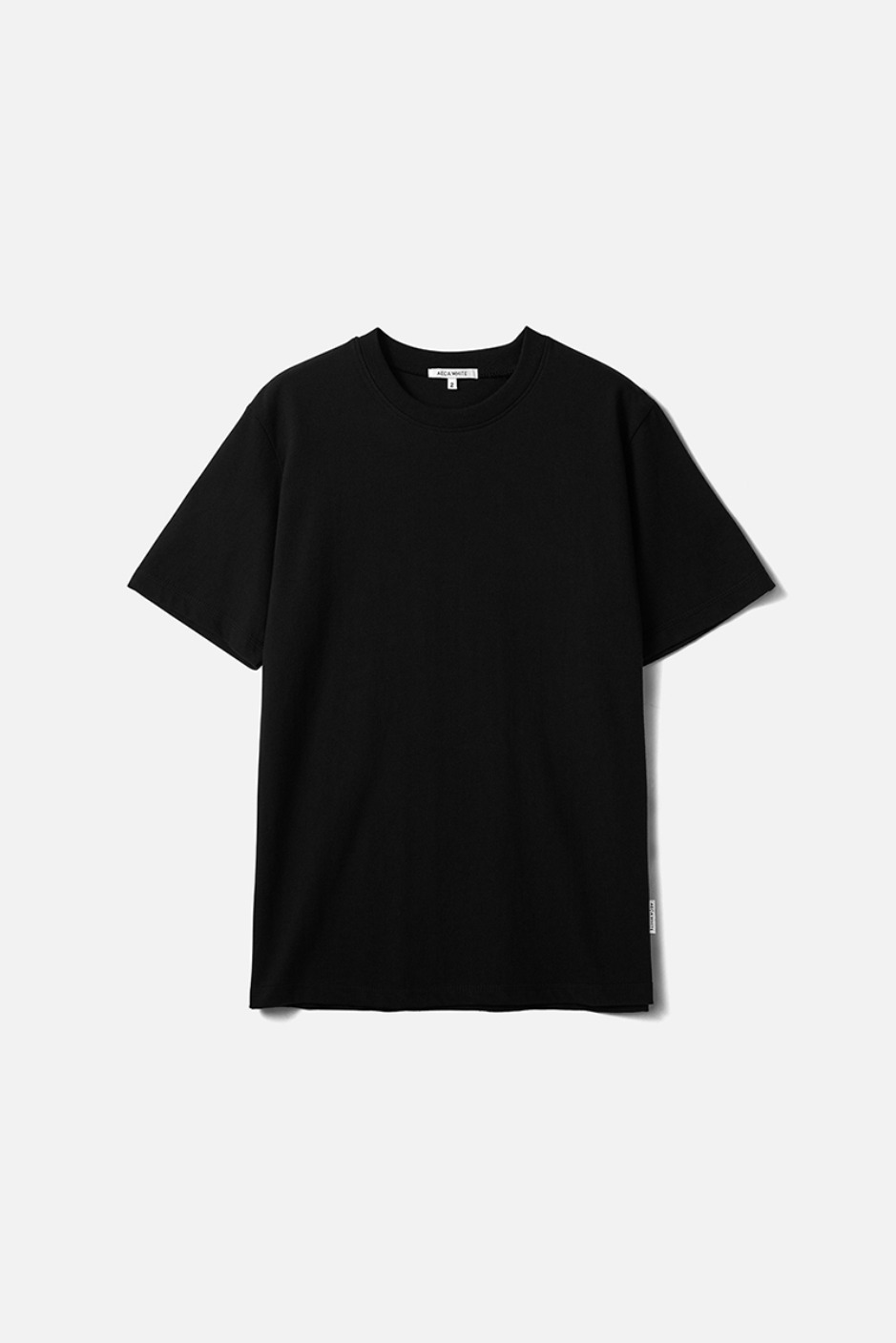 HALF SLEEVE TEE (Premium BASIC)-BLACK