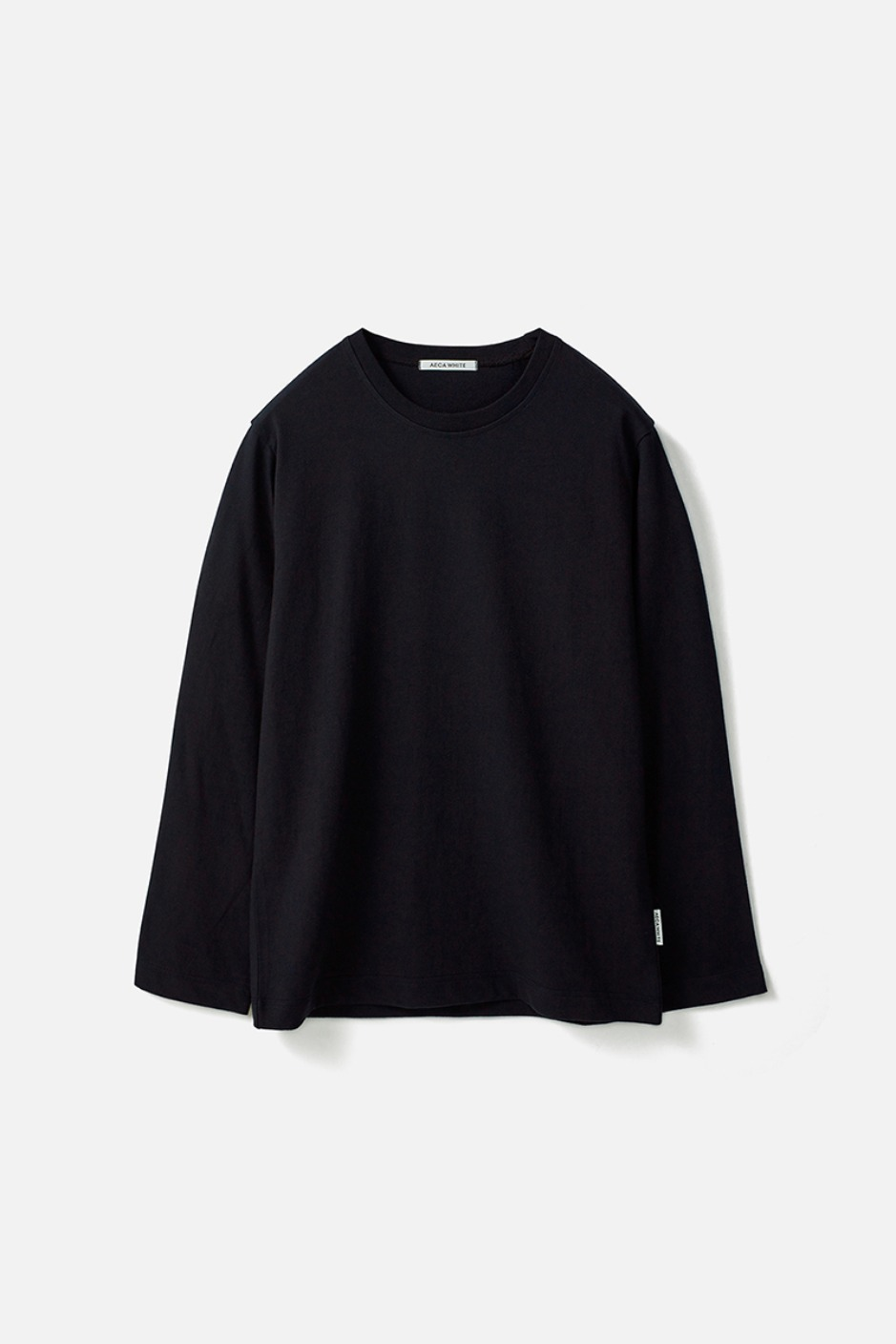 STANDARD LONG SLEEVE TEE (Premium BASIC)-NAVY