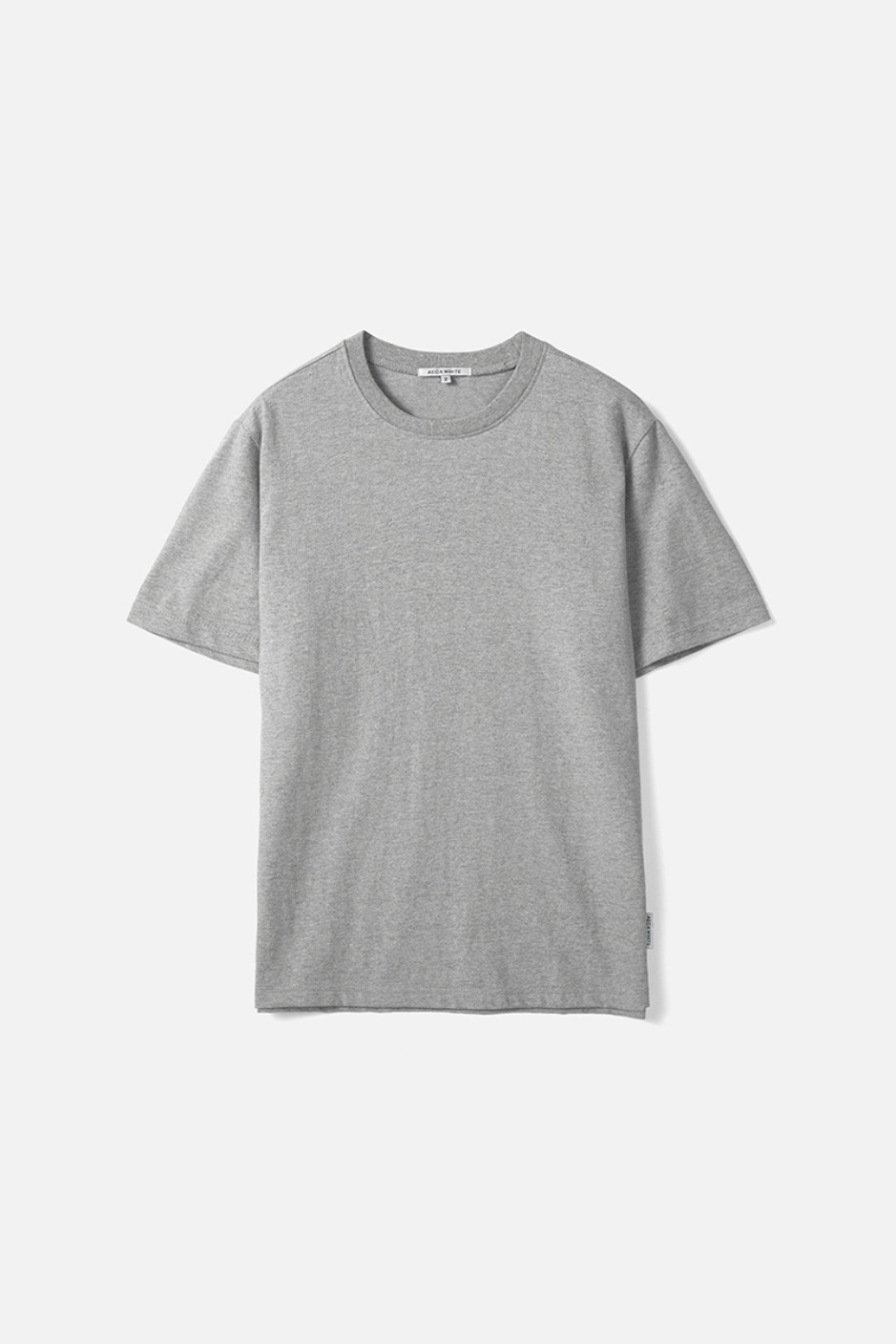 HALF SLEEVE TEE (Premium BASIC)-GREY