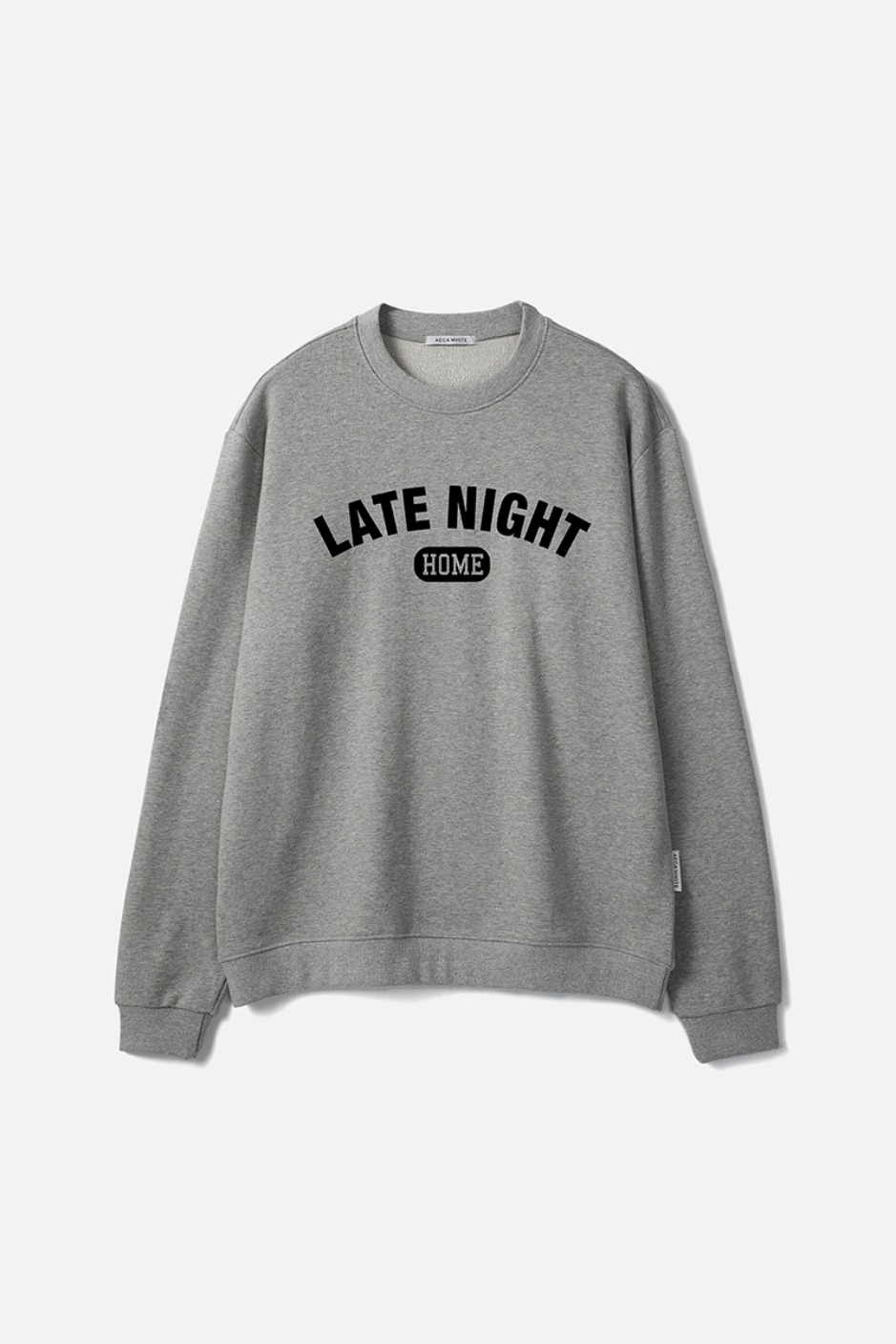 LATE NIGHT SWEATSHIRT-GREY