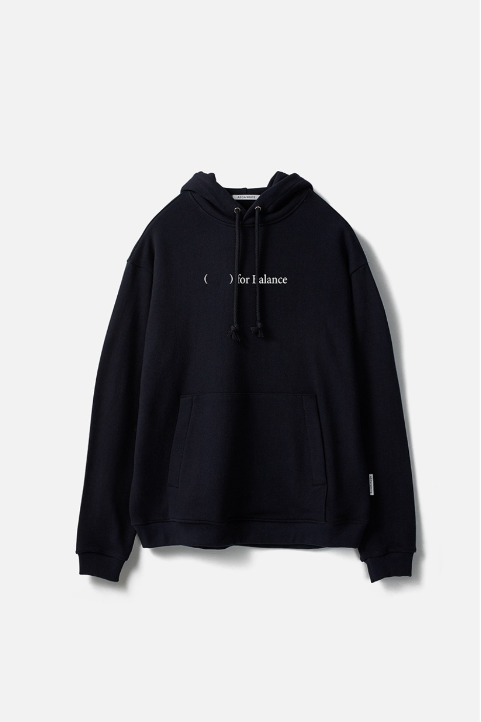 FOR BALANCE PULLOVER HOODIE-NAVY