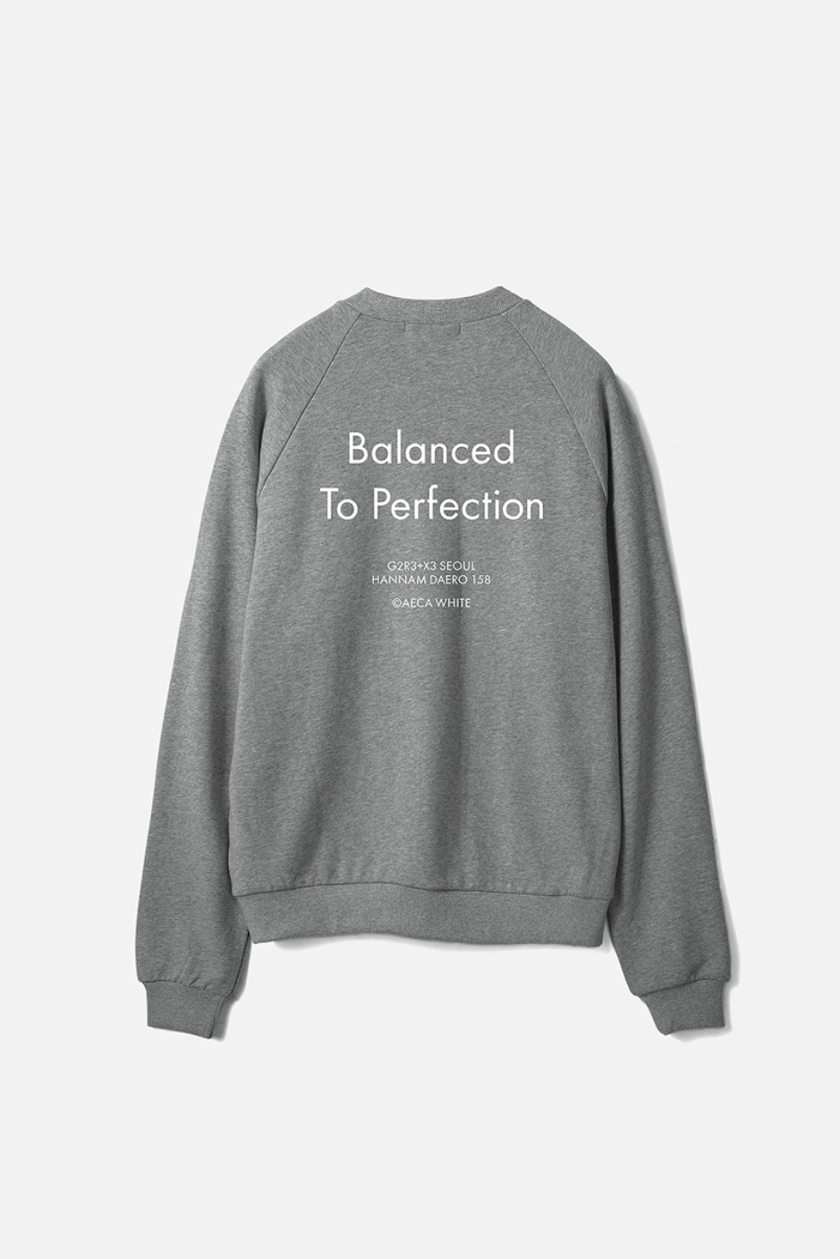 BALANCED TO PERFECTION SWEAT-GREY