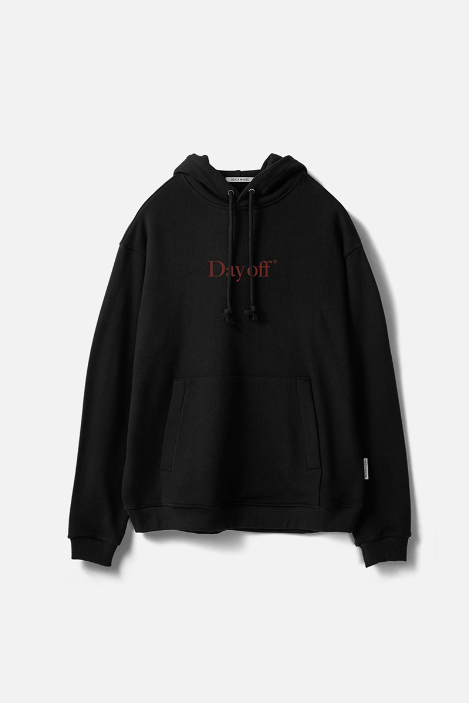 DAY OFF PULLOVER HOODIE-BLACK