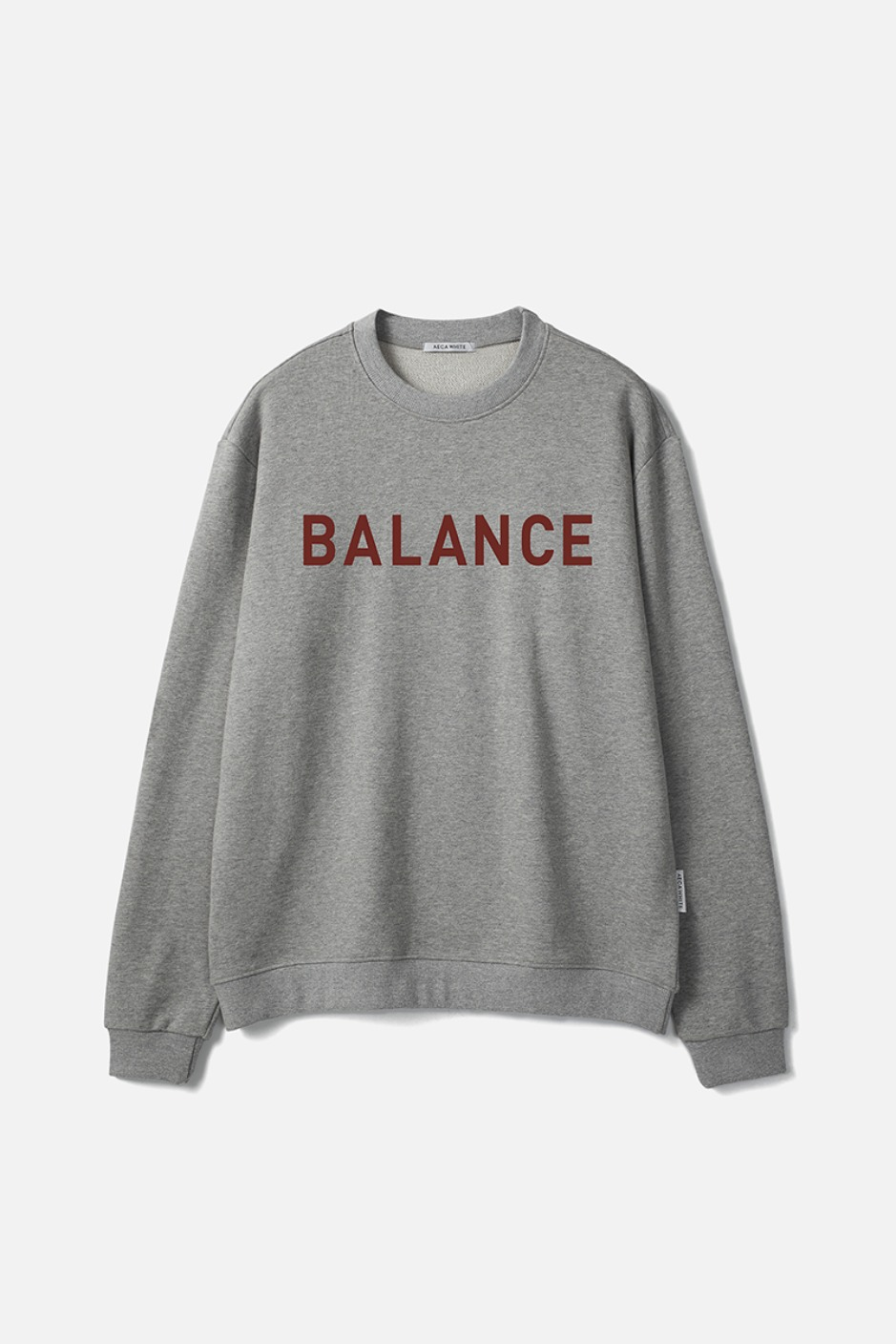 BALANCE SWEATSHIRT-GREY