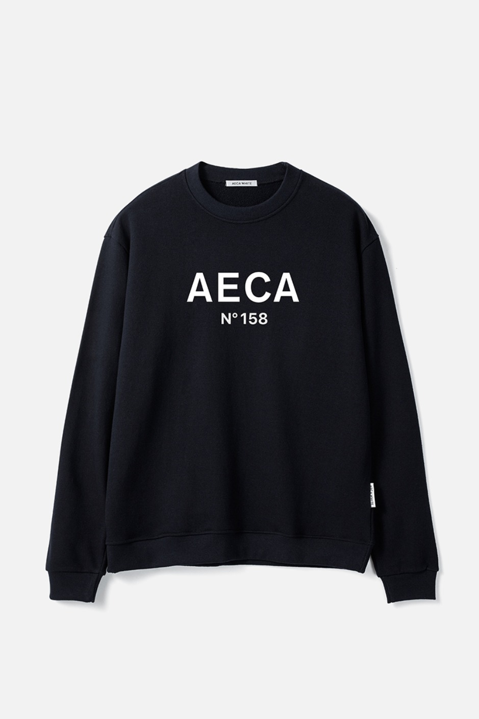 AECA BIG LOGO SWEATSHIRT-NAVY