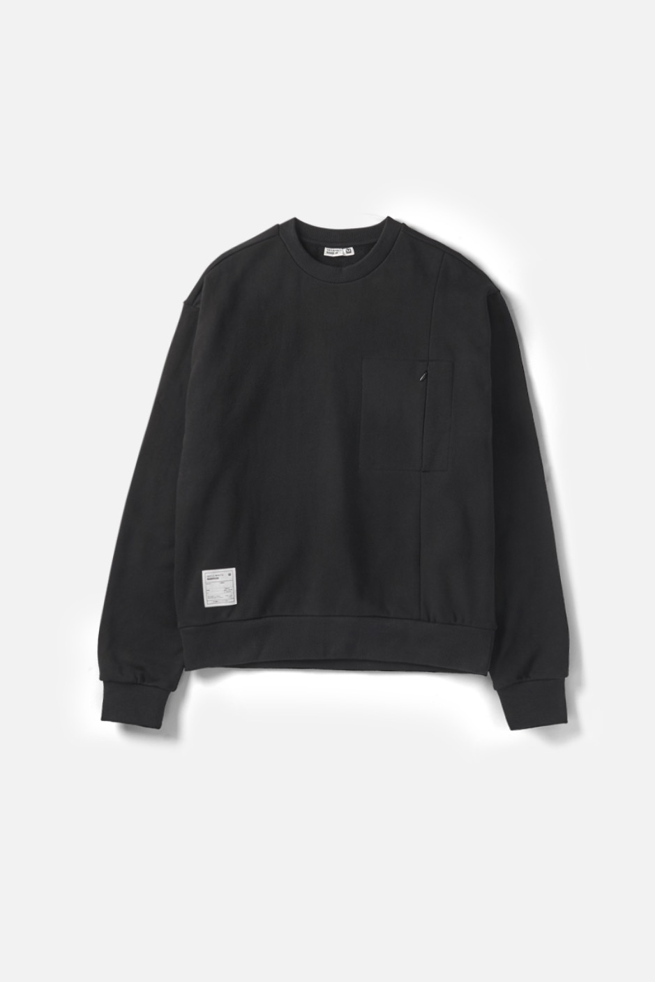 RAWROW X AECA WHITE SWEAT SHIRT-BLACK