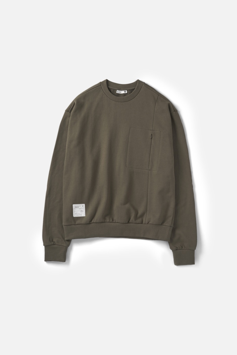 RAWROW X AECA WHITE SWEAT SHIRT-KHAKI